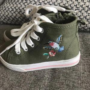 Carters 7T Toddler Girl sneakers